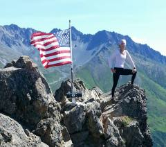 Summit of Lazy Mountain...Alaska