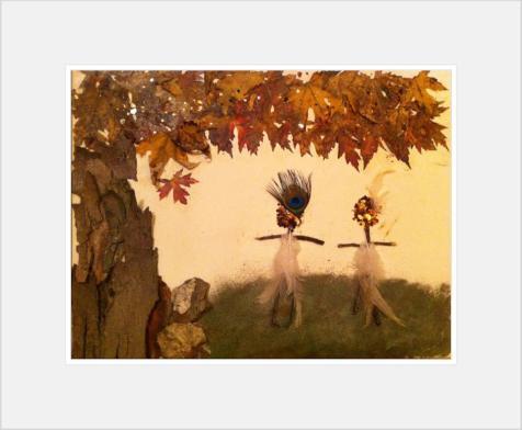 Princess Doah & Little Peacock hiking the Appalachian Trail