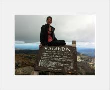 Mt Katadhin ~ Northern Terminus ~ Appalachian Trail ~ Maine