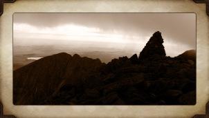 Summit of Mount Katadhin ~ Appalachian Trail ~ Maine