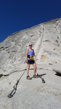 Climbing Half Dome Thursday, June 30th, 2016