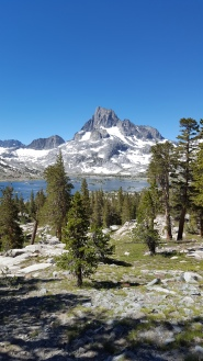 Banner Peak 12,936' Thousand Island Lake Ansel Adams Wilderness
