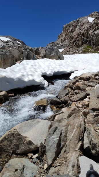 Descending Muir Pass