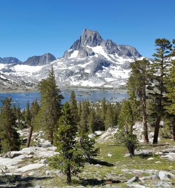 Thousand Island Lake ~ 9,840' Banner Peak ~ 12,936' Tuesday, July 5th, 2016