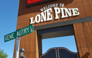 Hitch Hiked into Lone Pine Wednesday, July 20th, 2016 Making our way home!