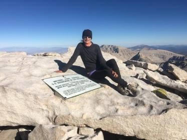 Summit of Mt Whitney 14,505' Tuesday, July 19th, 2016 Southern Terminus of John Muir Trail