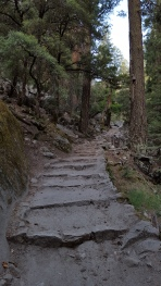 Climbing up out of Happy Isles...Yosemite Valley