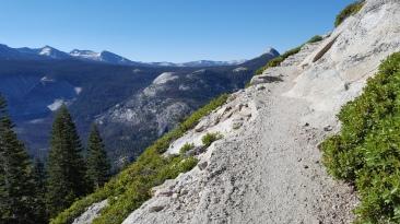 Climbing Half Dome