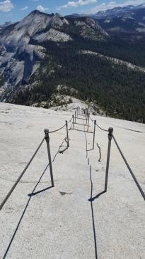 Descending Half Dome
