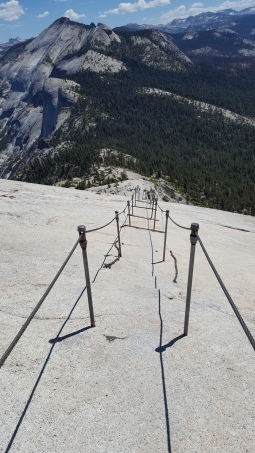Descending Half Dome