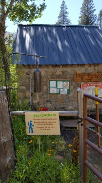 Muir Trail Ranch Monday, July 11th, 2016 Resupply