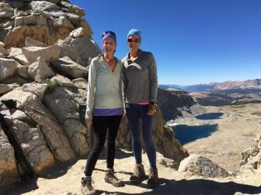 Princess Doah & Tiger Lily John Muir Trail June 29th ~ July 19th, 2016 Mather Pass
