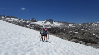 Donahue Pass 11,056' Monday, July 4th, 2016