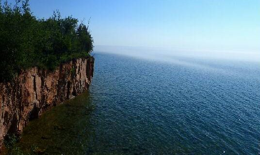 The beautiful shores of Lake Superior