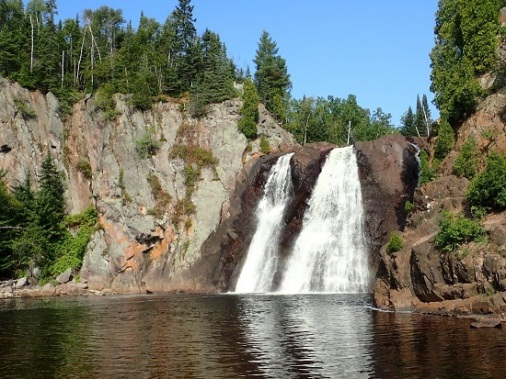 Tettegouche High Falls