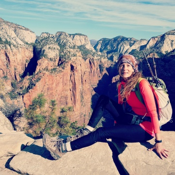 Angel's Landing Zion National Park October 12, 2016