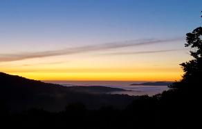 Sunrise Long Trail Kidd Gore Shelter September 8th, 2016