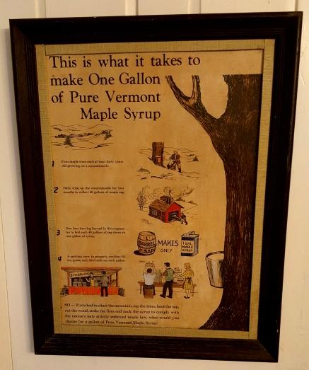 Maple Syrup Nye's Green Valley Farm B&B Johnson, VT