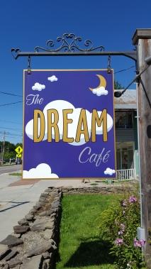 Village of Johnson First re-supply Dream Cafe...breakfast