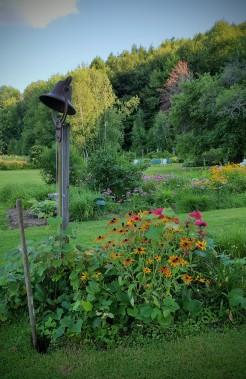 Nye's Green Valley Farm B&B gardens