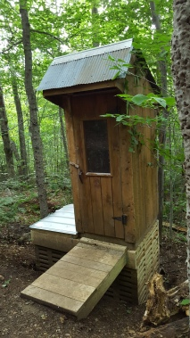 Bear Hollow Shelter Privy
