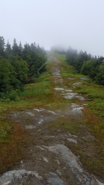 Chilcoot ski trail ascending Madonna Peak