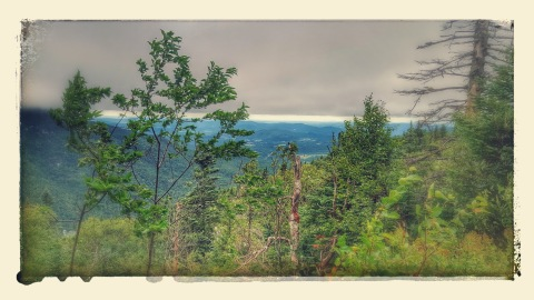 View from Elephant's Head Cliff & Smugglers Notch area