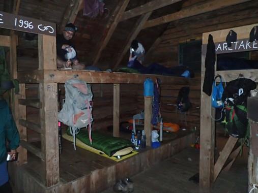 Inside the Taft Lodge
