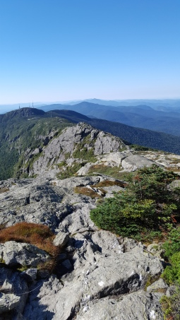 "View from ""The Chin"" Mt Mansfield"