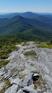 The Forehead of Mt Mansfield 3,940'
