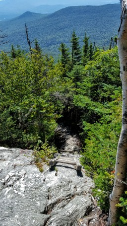 Descending the Forehead of Mt Mansfield...Love it!