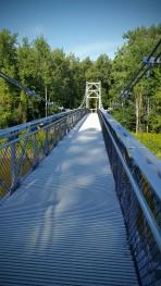 Crossing Winooski River