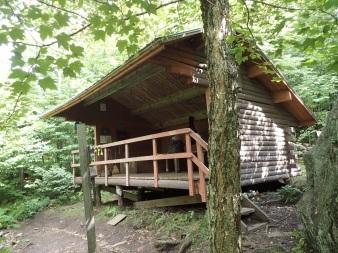 Bamforth Ridge Shelter Built 2002 Sleeps nine