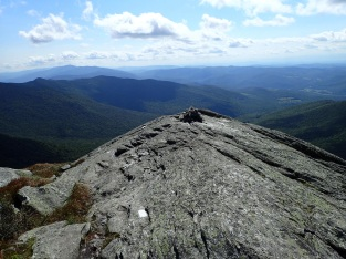 """Camel's Hump The Waubawakee called it Tawabodi-e-wadso...meaning, """"the mountain that is like a seat"""" Third highest mountain within Vermont 4,083'"""