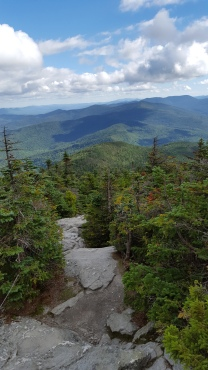 View from Mt abraham