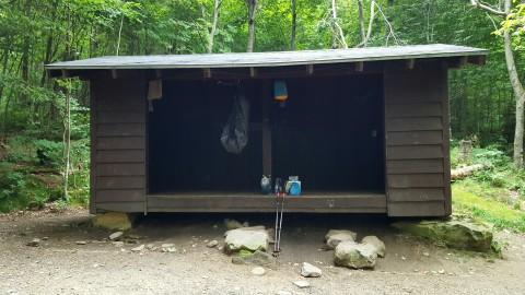 Sucker Brook Shelter Built 1963 Sleeps eight
