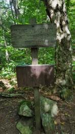 MAINE Junction Willard Gap Where the Long Trail meets the Appalachian Trail