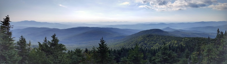View from Mt Ethan Allen