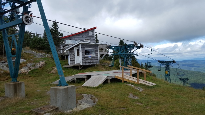 Mad River Glen Ski Area Warming hut & single chairlift station Camping permitted inside hut
