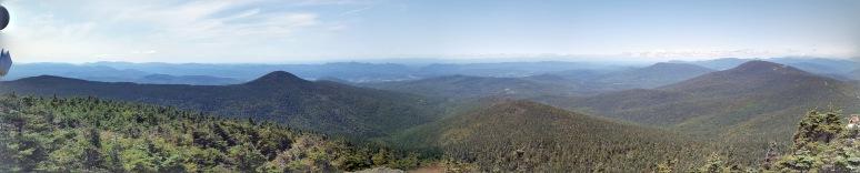 View from Killington Peak 4,235'