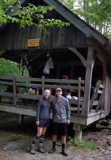 Princess Doah & Leapfrog Little Rock Pond Shelter Sleeps eight