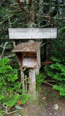 Old registry on Stratton Mtn