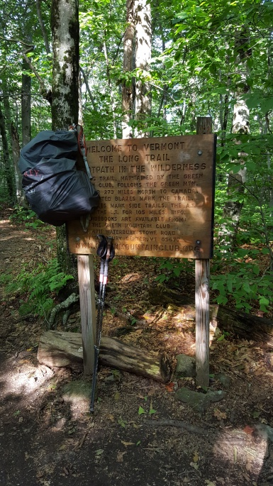 Southern terminus of the Long Trail