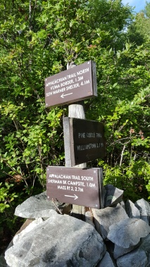 No longer on the LT Now soley hiking on the Appalachian Trail