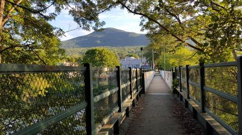 Crossing Hoosic River into North Adams, Massachusetts