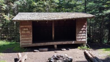 Cooley Glen shelter